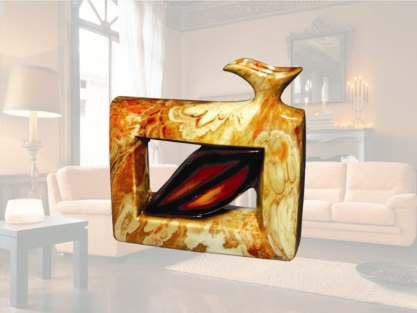 Vaso decorativo portafiori