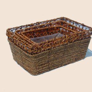 Vaschetta rettangolare bamboo