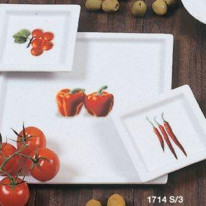 Set piatto portata legumi 3 pezzi