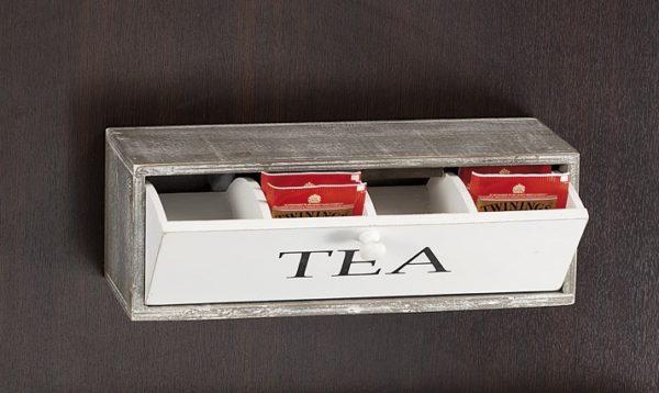 Scatola porta bustine tè e tisane