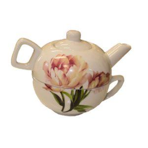 Teiera con tazza in scatola