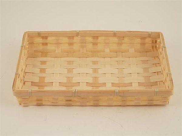 Porta pane vassoio bamboo rettangolare