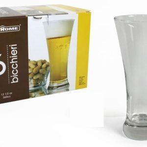 Bicchiere calice birra sargun 6 pezzi