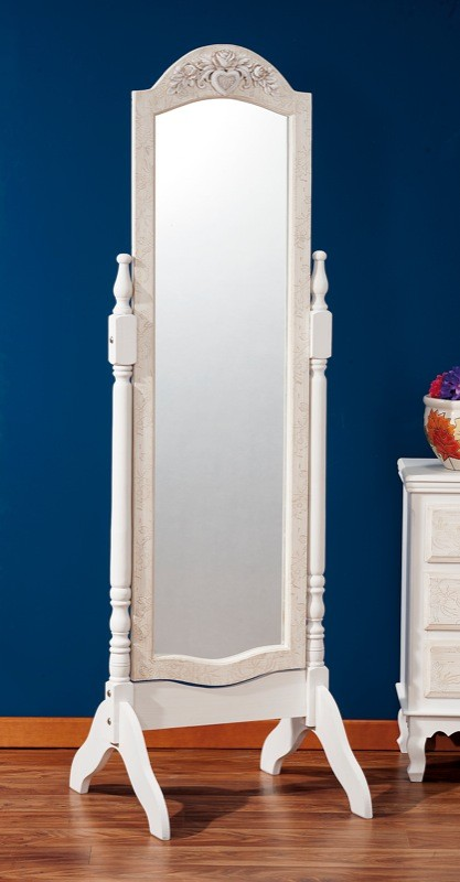 Specchio con cornice con supporto