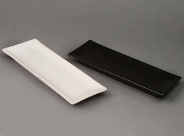Piatto rettangolare in ceramica
