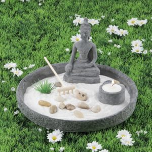 Giardino zen tondo