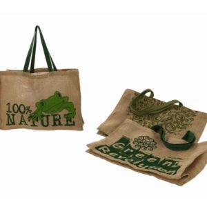 Borsa juta eco green