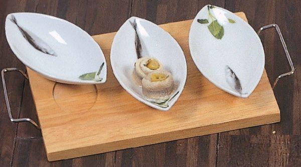 Piatti da portata pesci ceramica