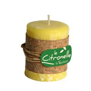 Set 3 Candele Cilindriche alla Citronella