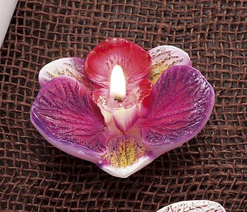 Candela galleggiante orchidea