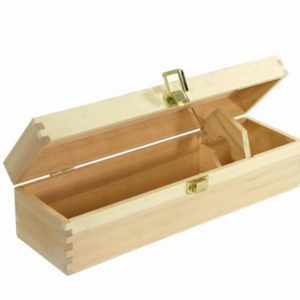 Scatola cassetta vino legno naturale