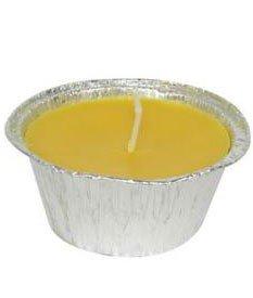 Set 6 Candele Alla Citronella Con Contenitore In Alluminio