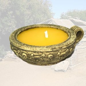 Citronella stile etrusco con manico