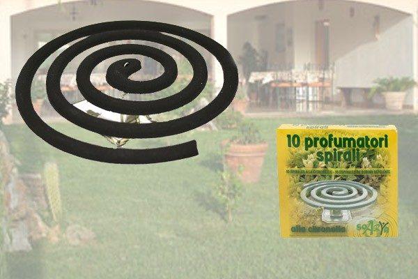 Set 6 Confezioni Di Spirali Profumate Antizanzare