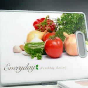 Tagliere rettangolare fantasia verdure