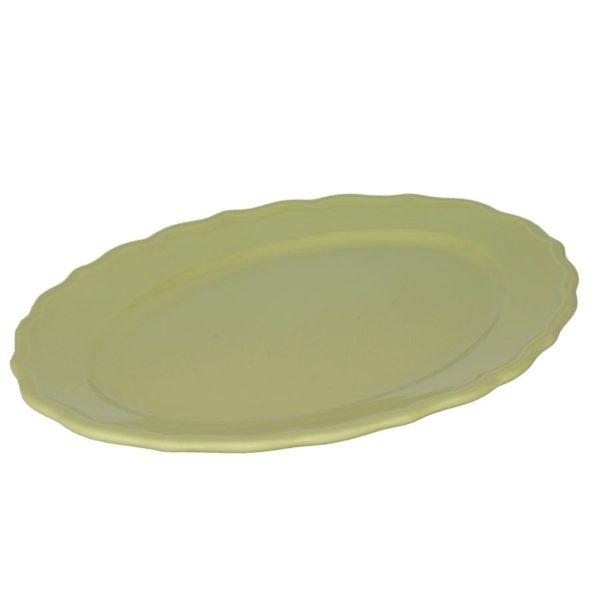 Piatto Juliet verde pastello