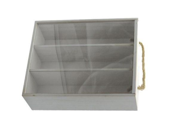 Scatola cassetta portavino legno