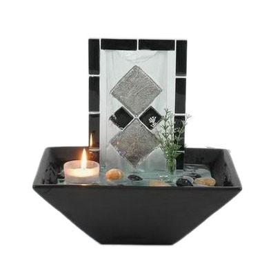 Fontana ceramica c/vetro