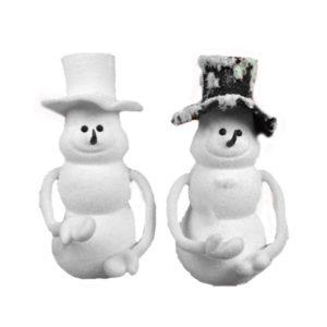 Pupazzo di Neve con Cappello