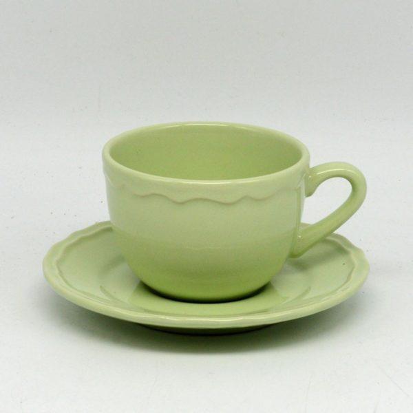Set 6 tazze Juliet verde Pastello