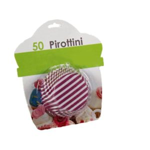 Set 50pz Pirottine per Muffin