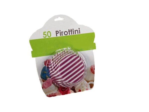 Set 50pz Pirottine per Muffin