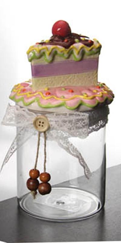 """Barattolo in Vetro """"Cake"""""""