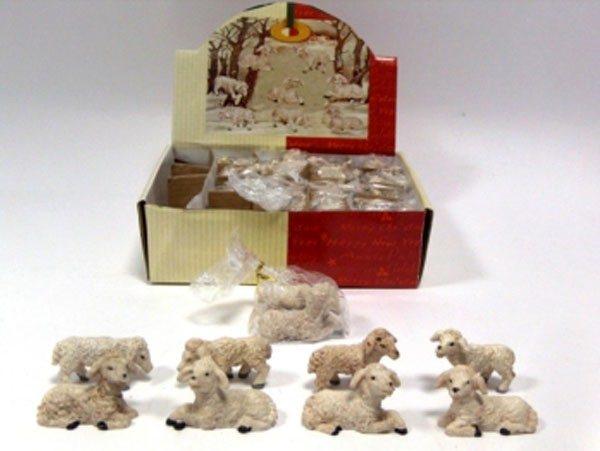 Set per Presepe Pecore