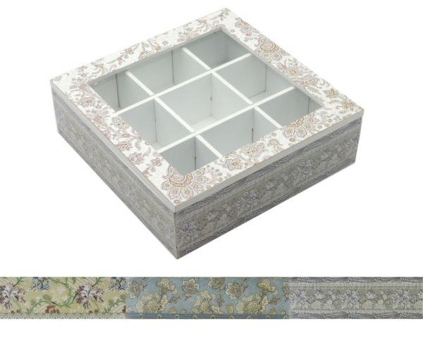scatola Portathé Tapis