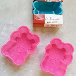 Formine in silicone per dolci Big Chef 2 pz