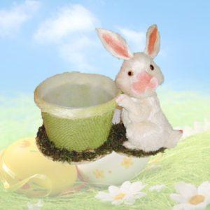 Coniglio pasquale con cesto