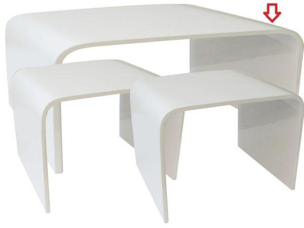 tavolo gloss bianco