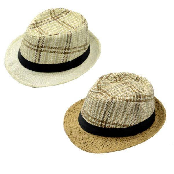 Cappello scozzese con fascia