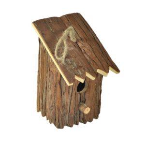 Casetta per uccelli in legno