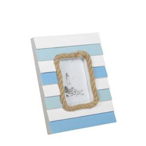 Portafoto da tavolo in legno mare rettangolare
