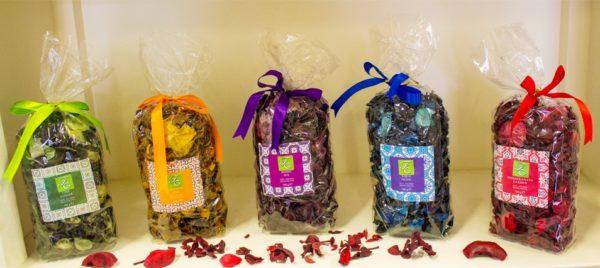 Pot-pourri profumato etnico varie fragranze