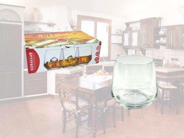 Set 6 bicchieri Lal acqua