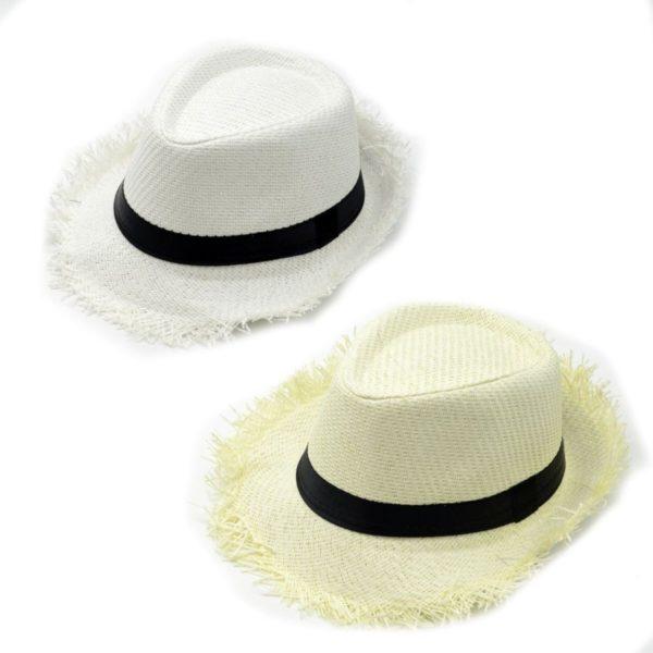 Cappello frangiato con fascia