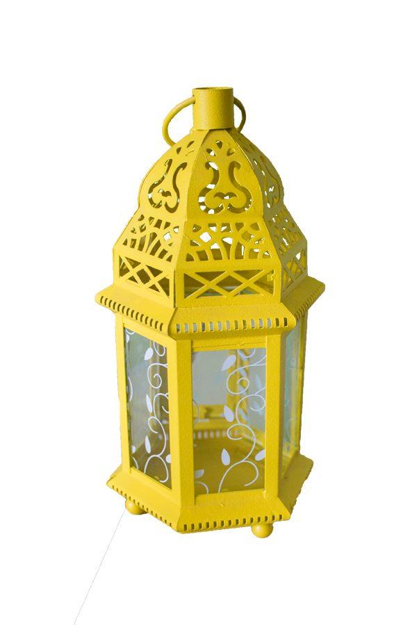 Lanterna Traforata Esagonale