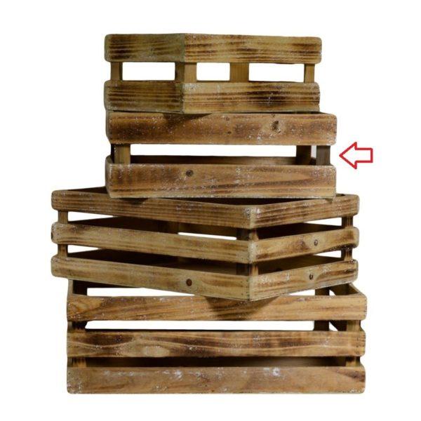Cassetta in legno naturale varie dimensioni