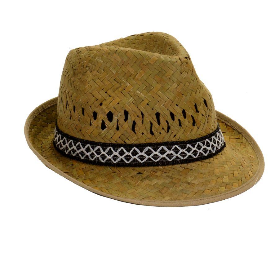 Cappello Maschile In Paglia Linea Campagna - Ferrini Gift c0125accd262