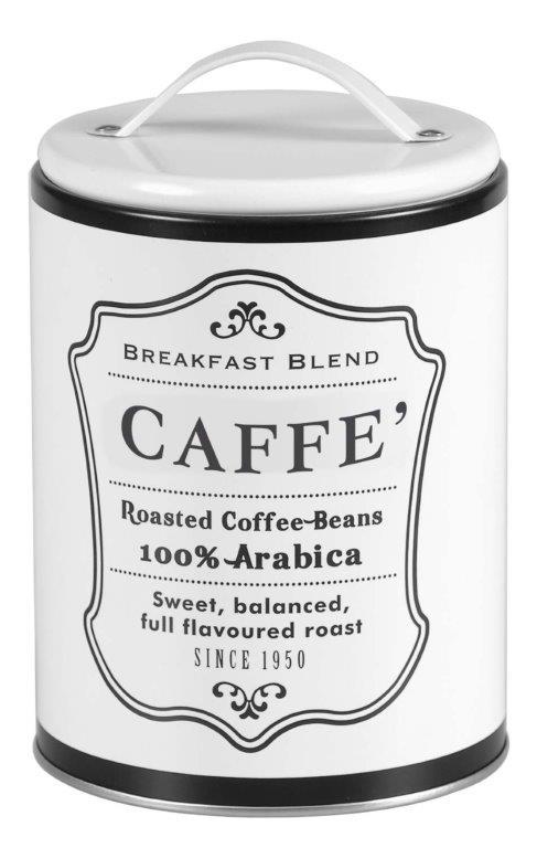 Barattolo In Latta Per Caffè - Coperchio Con Manico