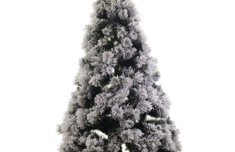 Albero Di Natale Monte Bianco Innevato h180cm