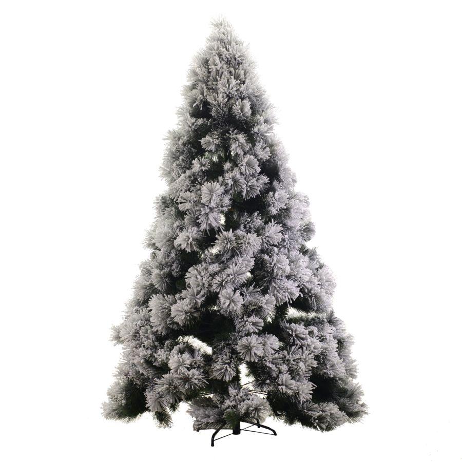 Foto Alberi Di Natale Bianchi albero di natale monte bianco innevato h180cm