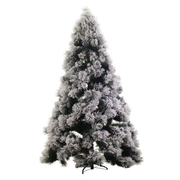 Albero Di Natale Monte Bianco Innevato h210cm