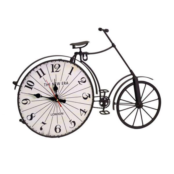 Orologio Bicicletta in Metallo Color Noce