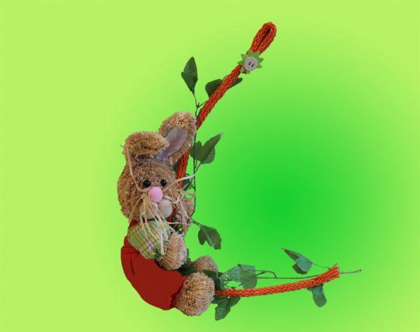 Decorazione Coniglio Pasquale Da Appendere