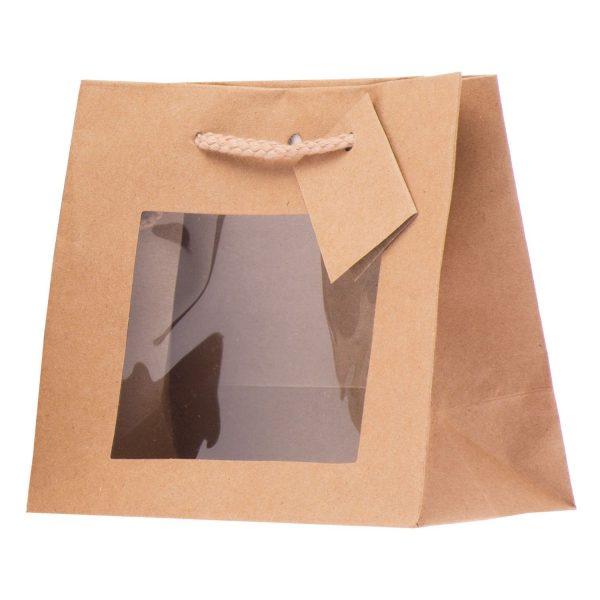 Shopper In Carta Con Finestra
