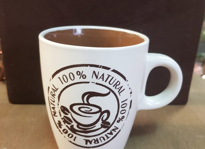 Tazze In Ceramica Natural Coffee