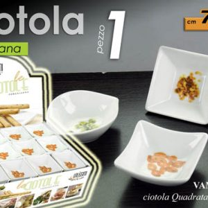 Ciotolina Snack In Porcellana Per Finger Food